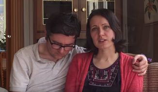 Marius and Ruth Bodnariu. (Youtube: Home School Legal Defense Association)