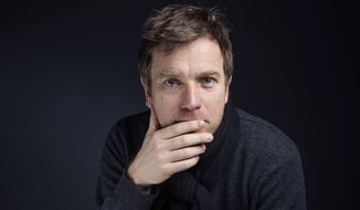 "Ewan McGregor poses for a portrait to promote the film, ""Last Days in the Desert"" at the Eddie Bauer Adventure House during the Sundance Film Festival on Sunday, Jan. 25, 2015, in Park City, Utah. (Photo by Victoria Will/Invision/AP)"