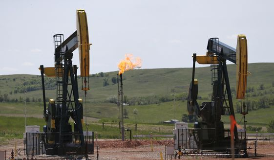 The Obama-era environmental rule is designed to prevent venting and flaring from oil and gas wells on public lands. (Associated Press/File)