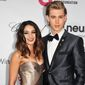 In this March 2, 2014, file photo, Vanessa Hudgens, left, and Austin Butler arrive at 2014 Elton John Oscar Viewing and After Party in West Hollywood, Calif. (Photo by Richard Shotwell/Invision/AP, File)