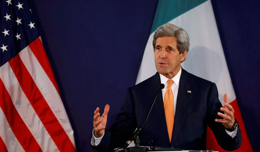 Secretary of State John Kerry backs the decision to ship Libya munitions and military support to fight the Islamic State despite U.N. sanctions against providing the regime with weaponry. (Associated Press)