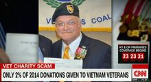 J. Thomas Burch is the CEO and founder of the National Vietnam Veterans Foundation. The charity has received a zero-star rating from Charity Navigator. (CNN)