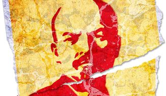 Lenin Poster Illustration by Greg Groesch/The Washington Times