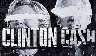 "Theatrical poster for ""Clinton Cash"""