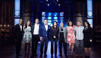 "Valerie Bertinelli and Tyler Florence (center) are judges on ""Food Network Star: Comeback Kitchen.""  (Food Network)"