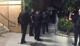 Chancellor Howard Gillman at the University of California, Irvine, has condemned a group of students for disrupting a pro-Israel event on campus, causing police to respond. (Orange County Register, courtesy of UCI College Republicans President Ariana Rowlands)
