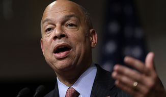 Homeland Security Secretary Jeh Johnson thought he had the surge licked last year, as numbers dropped. (Associated Press)