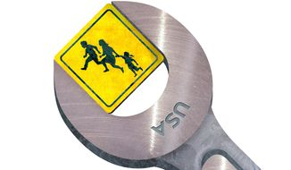 A Fix for Immigration Illustration by Greg Groesch/The Washington Times