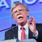 Former U.N. Ambassador John Bolton has crafted a response to the President Obama's visit to Hiroshima, in the form of a public-service ad produced through the Foundation for American Security and Freedom. (Associated Press)