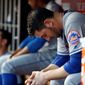New York Mets starting pitcher Matt Harvey's arm, longevity, future, and mysterious failings on the mound have been a hot topic in the New York media and NL East race. (Associated Press)