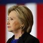 Hillary Clinton (Associated Press) ** FILE **