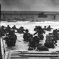 Allied forces storm the beaches of Normandy on June 6, 194 in the operation known as D-Day. (U.S. Department of Defense)