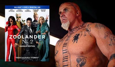 "Will Ferrell as Jacobim Mugatu in ""Zoolander No. 2: Magnum Edition,"" now available on Blu-ray from Paramount Pictures Home Entertainment."