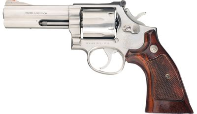 SMITH & WESSON MODEL 686 -  L-Frame revolvers built to suit the demands of the most serious firearms enthusiast. Available in six and seven shot cylinders, the L-Frame has a strong, durable frame and barrel built for continuous Magnum usage. As police officers and hunters will attest, this firearm is made to withstand heavy use