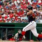Washington Nationals first baseman Ryan Zimmerman has seven home runs in May, including two in Saturday's loss to the St. Louis Cardinals. Zimmerman entered Sunday's game hitting .263 in May, an increase from his .219 average in April. (Associated Press)
