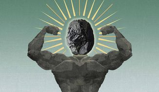 Strongman Coal Illustration by Greg Groesch/The Washington Times