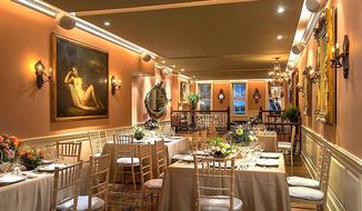 """Industrial hemp activists make their case at an """"all hemp"""" luncheon staged in an elegant townhouse called Elizabeth's on L, just north of the White House."""