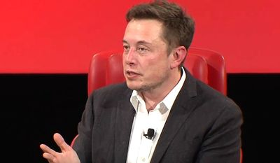 """SpaceX CEO Elon Musk says there is a """"one-in-billions"""" chance that humanity is not living in a computer simulation. (YouTube, Recode)"""
