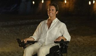 "Sam Claflin in the movie ""Me Before You."" (Image: IMDB.com, ""Me Before You."")"