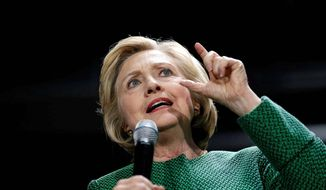 Hillary Clinton. (Associated Press)