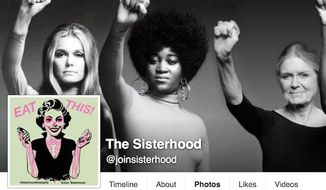 """The 2016 Glastonbury music festival will feature women-only """"secret spaces."""" (Facebook, The Sisterhood)"""