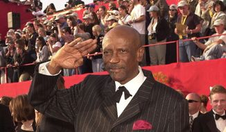 Actor Lou Gossett Jr. this Saturday will become the first black American to deliver a Shabbat morning sermon at the National Synagogue in Washington.