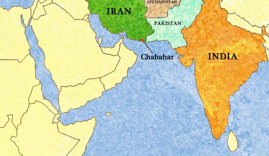 Iran India expanding bilateral ties could reshape politics in – Map of Iran and India