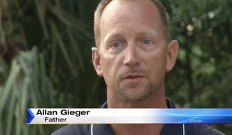 """Allan Gieger Jr. of Jacksonville is being hailed """"Dad of the Year"""" after he sold his disrespectful teenage son's SUV on Craigslist as punishment for smoking pot and """"acting all thug."""" (WJXT)"""