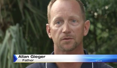 "Allan Gieger Jr. of Jacksonville is being hailed ""Dad of the Year"" after he sold his disrespectful teenage son's SUV on Craigslist as punishment for smoking pot and ""acting all thug."" (WJXT)"