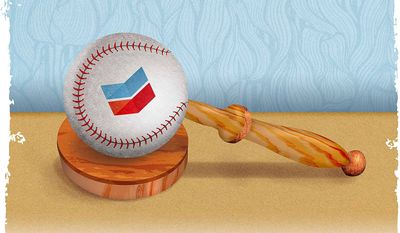 The Court Calling Balls and Strikes Illustration by Greg Groesch/The Washington Times