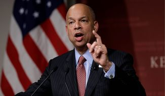 Homeland Security Secretary Jeh Johnson denies he favored one side over the other while considering executive actions on amnesty. (Associated Press)