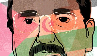 Mohamed Abdelaziz           Illustration by Linas Garsys/The Washington Times