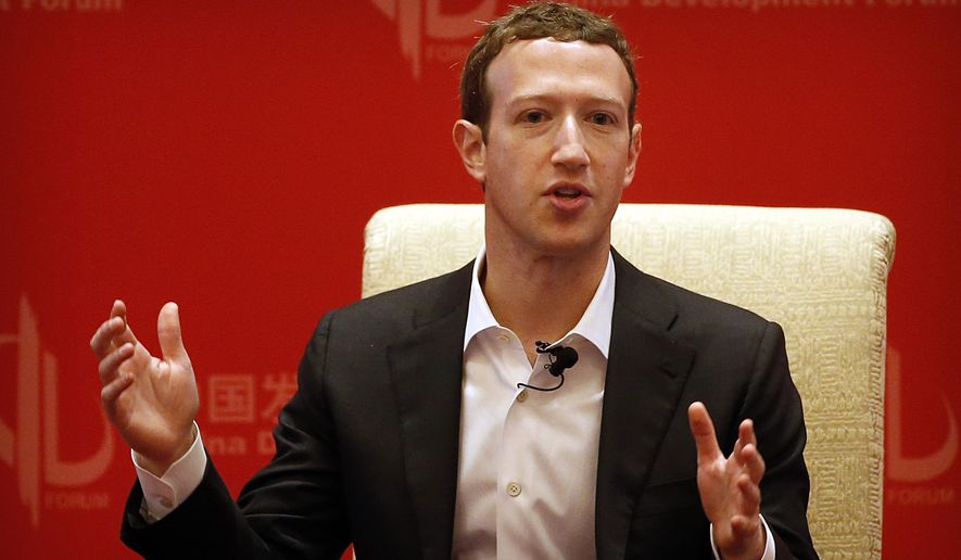 """Facebook CEO Mark Zuckerberg invited conservative pundits and analysts to a meeting at Facebook headquarters last month after an article in Gizmodo cited former staffers saying that they buried stories of interest to conservatives on the """"trending topics"""" section. """"It doesn't make sense for our mission or our business to suppress political content,"""" Mr. Zuckerberg wrote on Facebook after the meeting. (Associated Press)"""