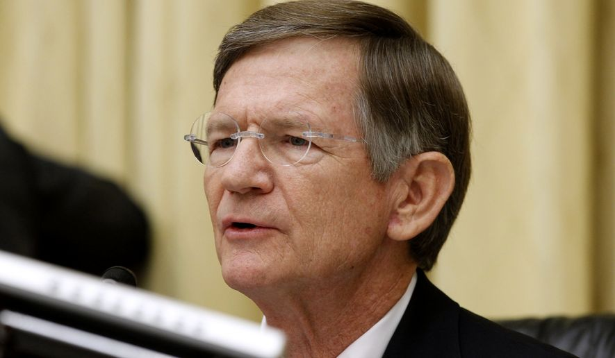 """By deporting such a small percentage of the visa overstayers, the message they are sending wide and far is just get into the country, if you're not convicted of a serious crime, [and] you're going to be allowed to stay. You're gonna pass go; you're gonna get the money,"" said Rep. Lamar Smith, Texas Republican. ""That is the wrong message to send because it increases more illegal immigration."" (Associated Press)"