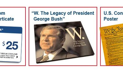 W. The Legacy of President George Bush