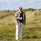Donald Trump is set to visit properties he owns in Scotland, from where his mother emigrated to the U.S. in the 1930s, but local activists plan to give him the cold shoulder over his controversial immigration stances. (Associated Press)