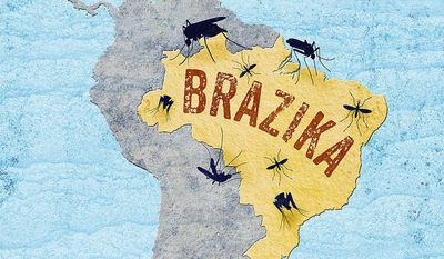 Dangerous Travel to Brazil Illustration by Greg Groesch/The Washington Times