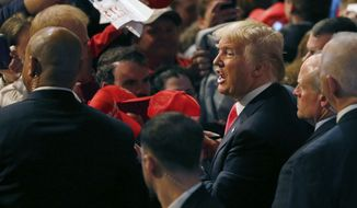 Republican presidential candidate Donald Trump rallied a crowd in April at the Milwaukee Theatre. Party members in the state hope this is the year they win the big prize. (Associated Press)