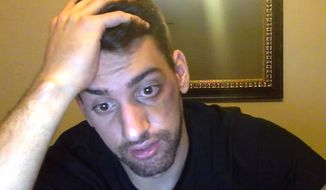 """YouTube star """"Joey Salads"""" was attacked after releasing a video titled """"Radical Islam vs. Radical Christianity."""" (YouTube, Joey Salads)"""