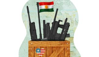 American Support for the Kurds Illustration by Greg Groesch/The Washington Times