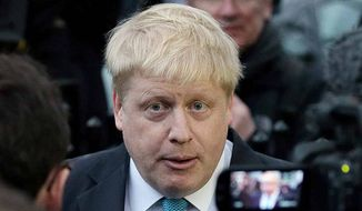 Boris Johnson. (Associated Press) ** FILE **