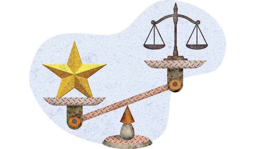 Commanders Worth More Than Lawyers Illustration by Greg Groesch/The Washington Times