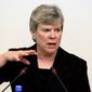 Three Republican senators have joined their House colleagues in opposing the nomination of State Department official Rose Gottemoeller to be the next NATO deputy secretary general. (Associated press)