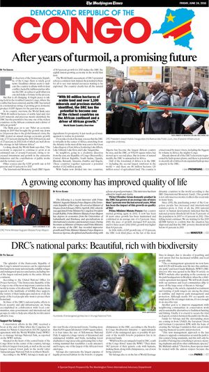 Download the Special Report prepared by The Washington Times International Advocacy Department available in the June 24, 2016, edition of The Washington Times. (1.7 MB)