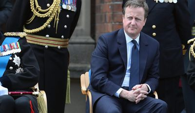 Tidying up: British Prime Minister David Cameron is under pressure not to delay the EU divorce with theatrics.