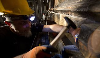 Renovations at the Church of the Holy Sepulchre (Associated Press)