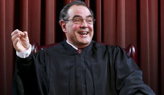 "Edward Gero portrays Supreme Court Justice Antonin Scalia in ""The Originalist."" (Tony Powell)"