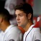 Washington Nationals top prospect Lucas Giolito impressed with his poise and confidence in his major-league debut Tuesday. (Associated Press)