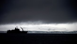 FILE In this Jan. 25, 2015 file photo, Chile's Navy ship Aquiles moves alongside the Hurd Peninsula, seen from Livingston Islands, part of the South Shetland Islands archipelago in Antarctica. Antarcticas ozone hole is finally starting to heal, a new study finds. In a study showing that the world can fix man-made environmental problems when it gets together, research from the U.S. and the United Kingdom show that the September-October ozone hole over Antarctica is getting smaller and forming later in the year.  And the study in the journal Science also shows other indications that the ozone layer is improving after it was being eaten away from chemicals in aerosols and refrigerants. Ozone is a combination of three oxygen atoms that high in the atmosphere shields Earth from much of the suns ultraviolet rays.  (AP Photo/Natacha Pisarenko, File)