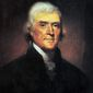 Thomas Jefferson, upon winning the presidential election of 1800, called for the putting aside of partisan politics. (White House Historical Association)
